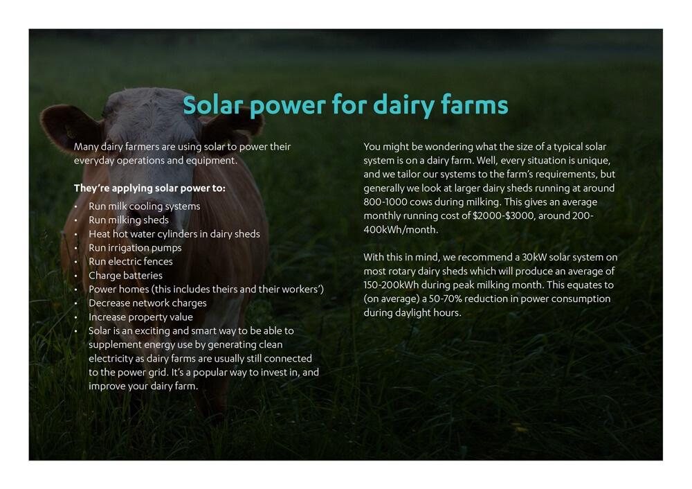 Solar for your farm: Your land. Your sun. Your savings