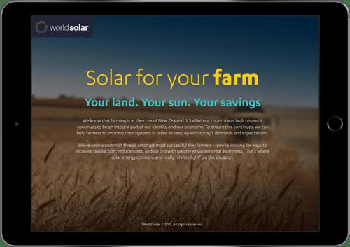 Solar for your farm