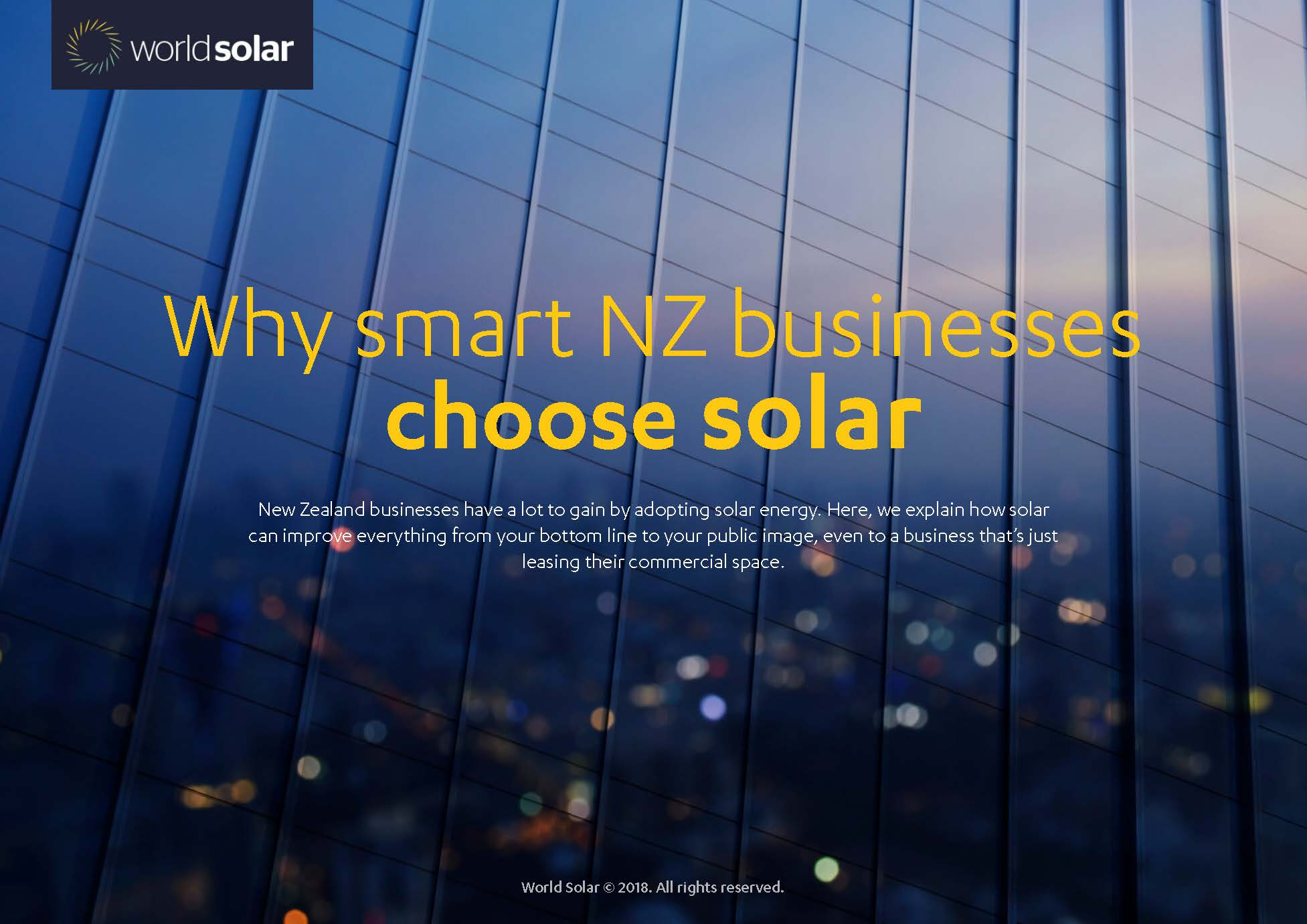Why smart NZ businesses choose solar
