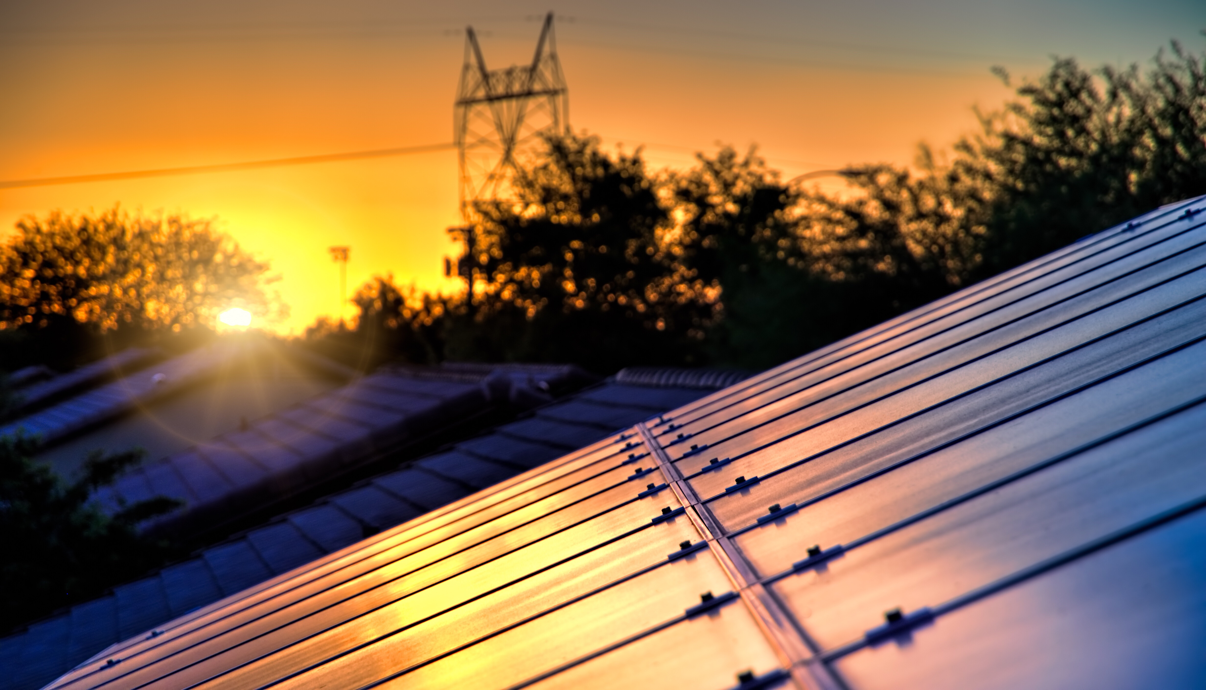 When the sun goes down use solar batteries instead